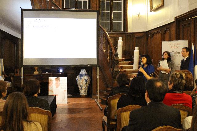 Мултимедйина техика за събитие във френското посолство