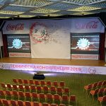 Техника за събитие на Кока Кола